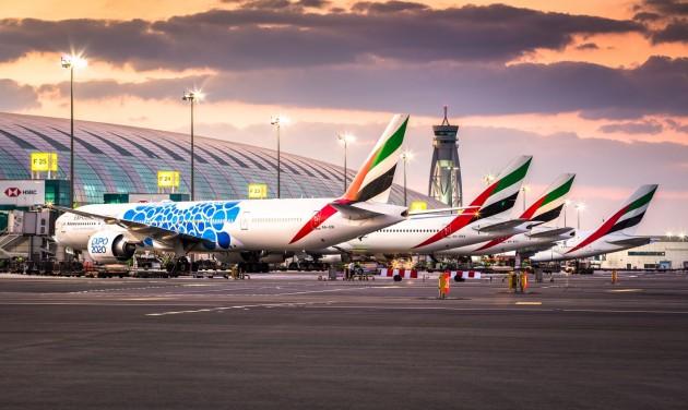 Júliusban már több mint 50 célállomásra repül az Emirates