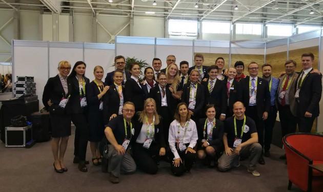 Vendéglátó szakmák az Euroskills 2018. versenyen