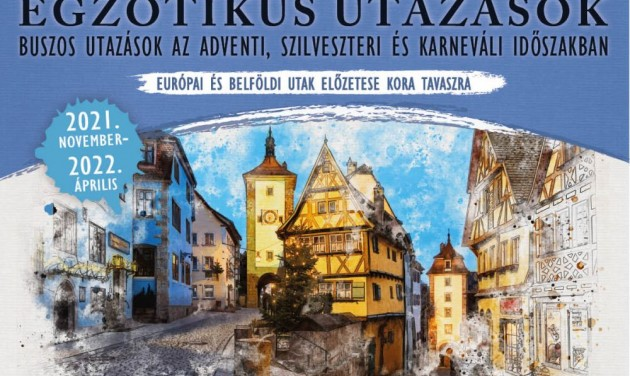 Megjelent a Fehérvár Travel 2021-22-es téli programfüzete
