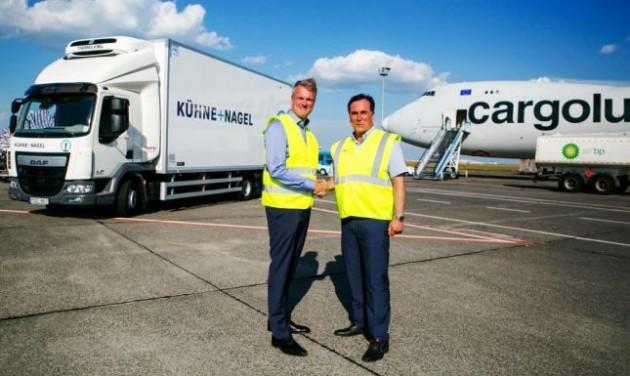A Kühne + Nagel beköltözik a budapesti repülőtérre