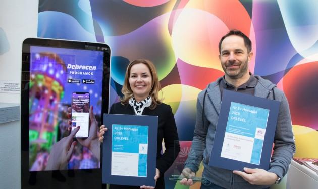 Az év applikációja lett a Debreceni Programok
