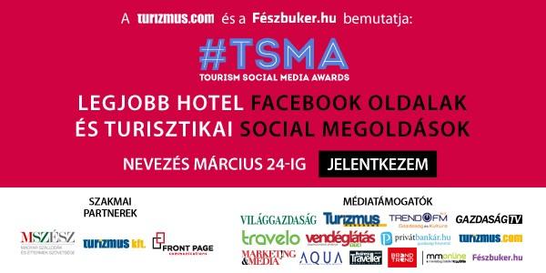 Nevezési határidő - Tourism Social Media Awards