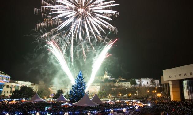 Karácsonyi Városka Nyitrán
