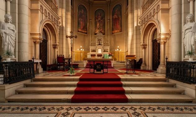 Felújítják az Assisi Szent Ferenc-templomot a Bakáts téren