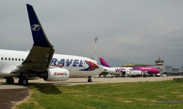 Rekord utasforgalom júliusban a Debreceni Repülőtéren