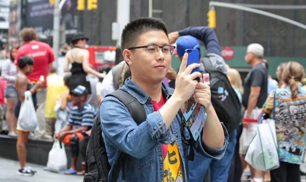 Európában nem, de világszinten tovább nőtt a kínai turisták száma
