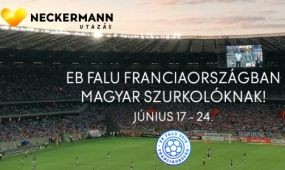 Magyar szurkolók számára kialakított EB Falu a franciaországi Puy St. Vincentben a Neckermann szervezésében!