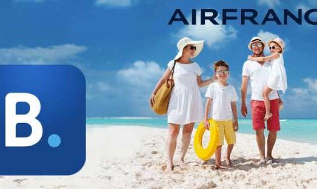Együttműködik az Air France és a Booking.com