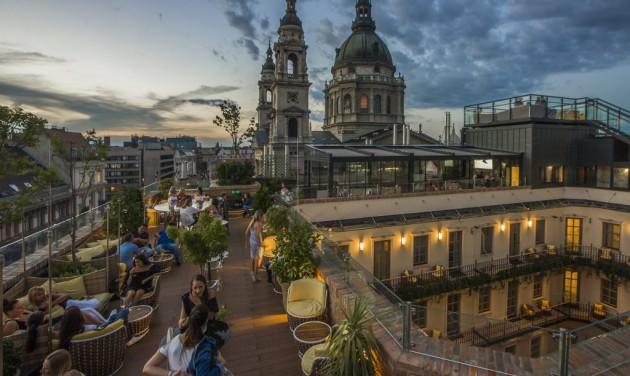 Budapest a szállodai rangsor dobogóján