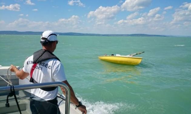 Megerősített járőrszolgálat nyáron a Balatonnál