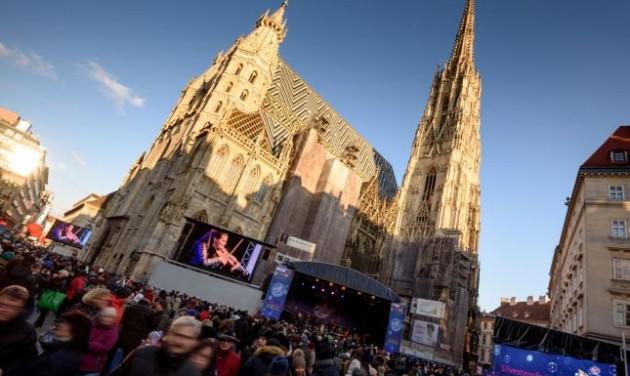 Bécs ismét nagy utcabállal köszönti az újévet