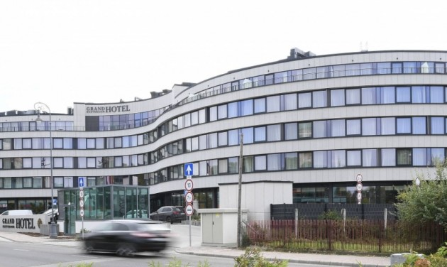 Máris felpezsdítette a várost az új Grand Hotel Esztergom