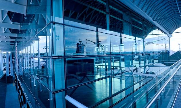 Megugrott a sanghaji reptér nyeresége