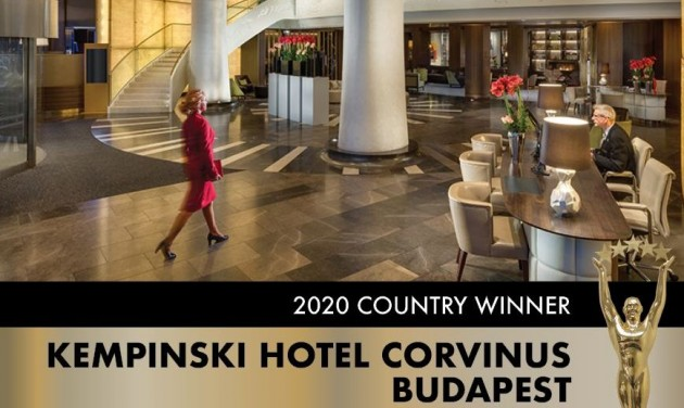 3+1 díj a Kempinski Hotel Corvinus Budapestnek