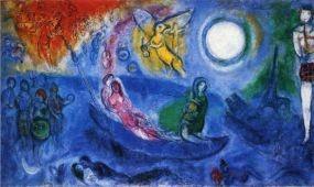Chagall-kiállítás Pécsen