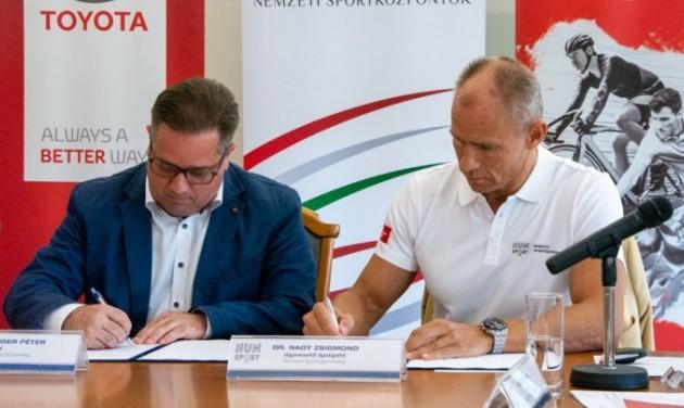 Együttműködik a Magyar Kerékpáros Szövetség és a Nemzeti Sportügynökség