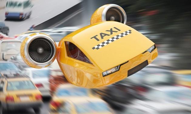 Röpködő Uber-taxiké a jövő?