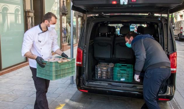 Kórházaknak adományoz a Párisi Udvar Hotel