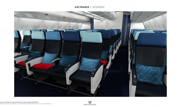 Megújul a turistaosztály az Air France-gépek fedélzetén