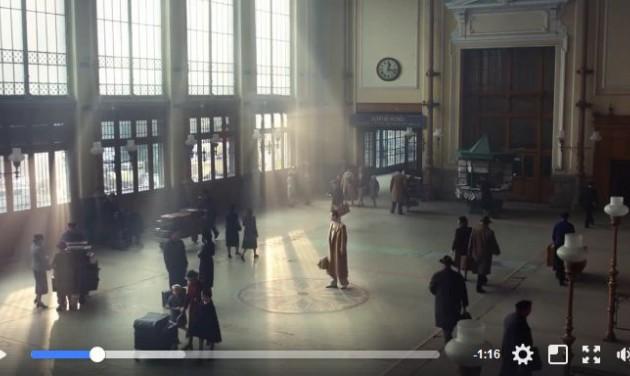 A Nyugati pályaudvaron forgatta reklámfilmjét a Lacoste
