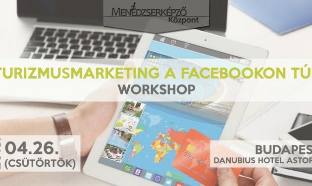 Turisztikai online marketing workshop - MÁR CSAK EGY HÉTIG jelentkezhet
