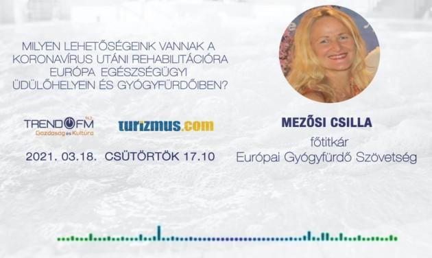 Koronavírus utáni rehabilitáció az európai gyógyfürdőkben – podcast