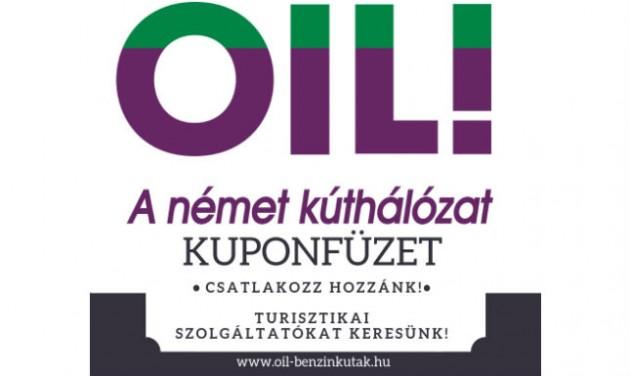 OIL! töltőállomás kuponfüzetében való megjelenés, FELHÍVÁS!
