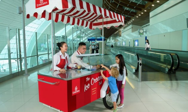 Saját fagyit árul az Emirates