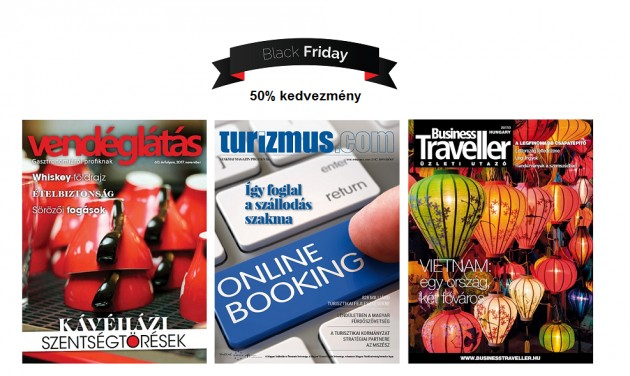 Black Friday hétvége a turizmus.com-on is!
