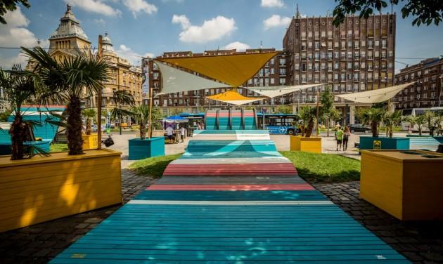 Mozogj, sakkozz, töltődj a Városháza Parkban!