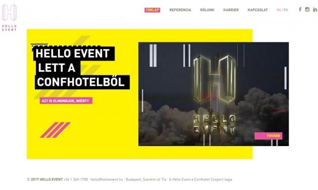 Hello Eventként folytatja a Confhotel Event