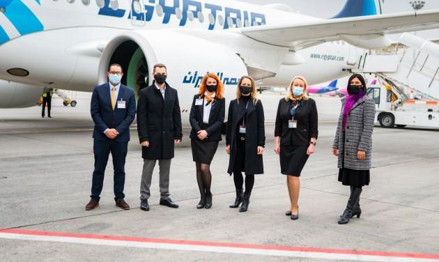 Telt házzal indult el az Egyptair első hurghadai járata Budapestről