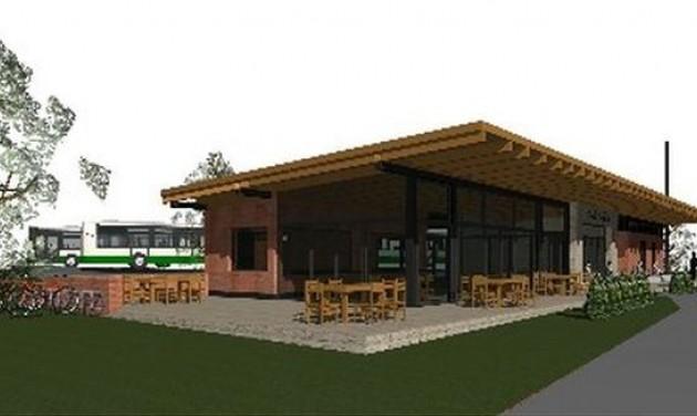 Nyáron új fogadóépület várja a vonatozókat Pálházán