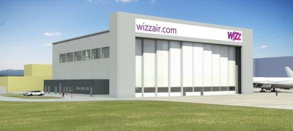 Új hangár a budapesti repülőtéren