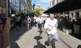 Pincér futóverseny a Belvárosban június 17-én