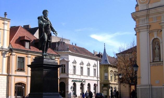 Év végére megújul a győri Bécsi kapu tér