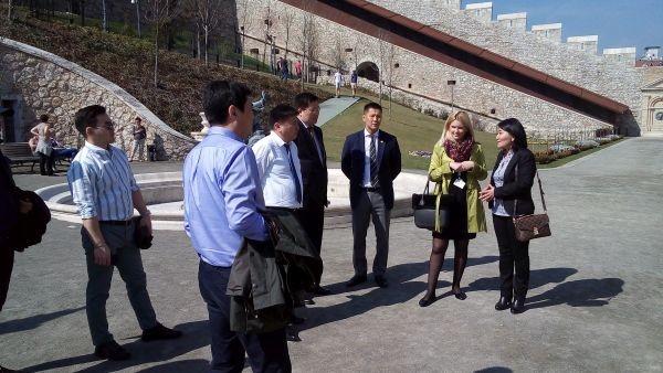Mongol küldöttség Budapesten