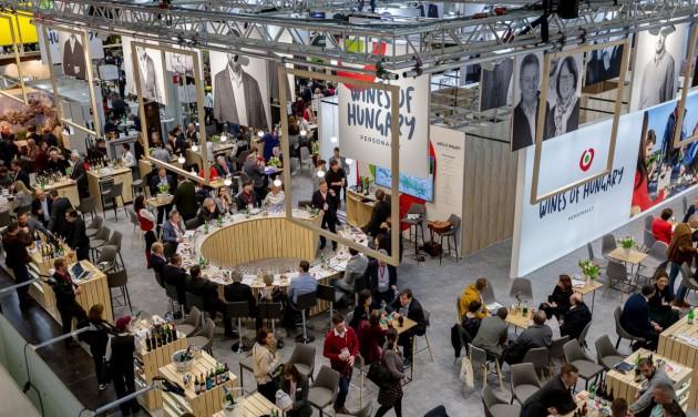 Magyarok a világ legnagyobb borvásárán