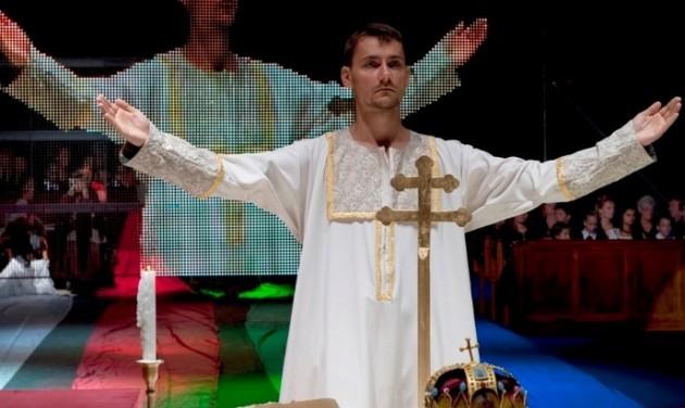 II. Andrást koronázzák Székesfehérváron