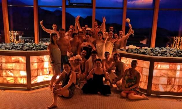 Óriási magyar siker a nagy szaunamester versenyen