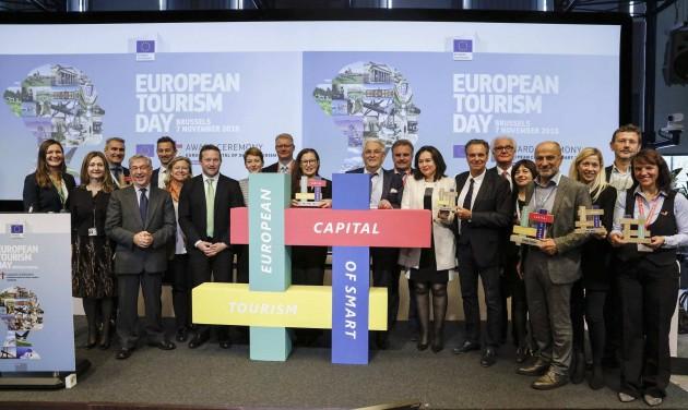 Átadták a Turizmus Európai Fővárosa díjakat