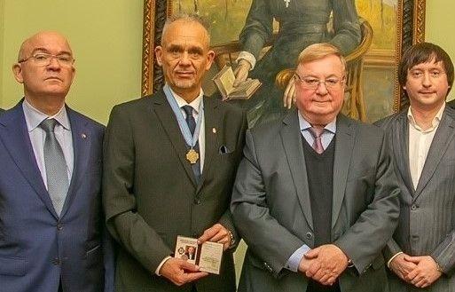 Rangos orosz kitüntetést kapott Hévíz polgármestere