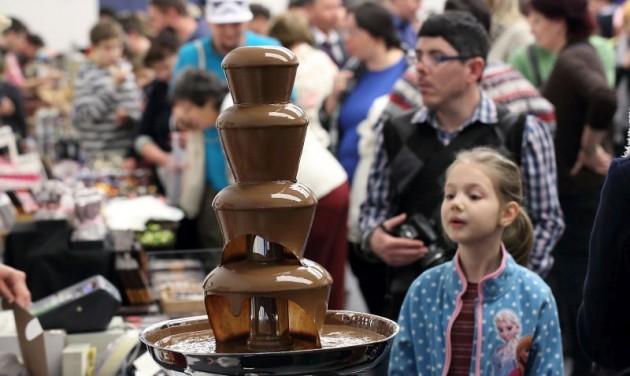 Csokoládé Karnevál Pécsett