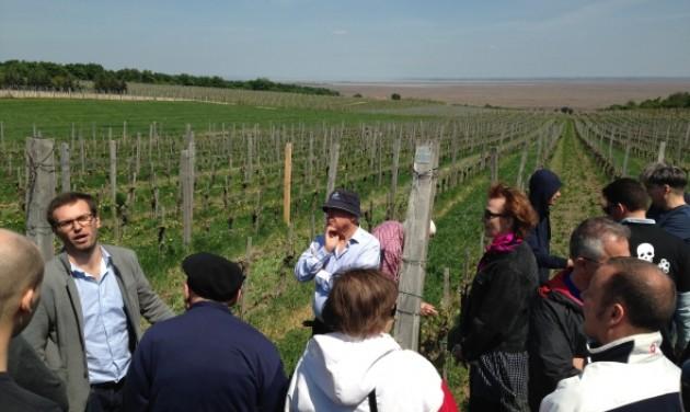 A Weninger-pincészetek látogatta meg a Magyar Szállodaportások Aranykulcs Egyesülete