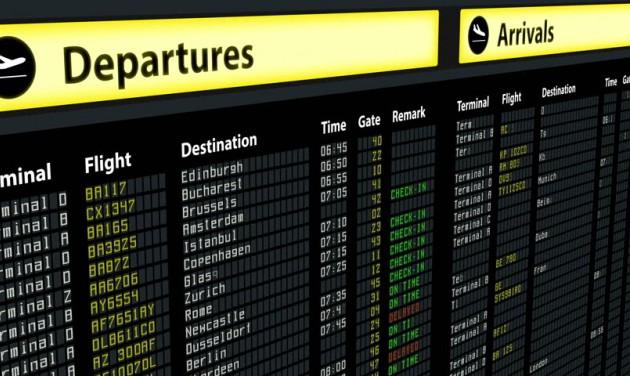 Többszörösére nőttek a késések egyes európai repülőtereken