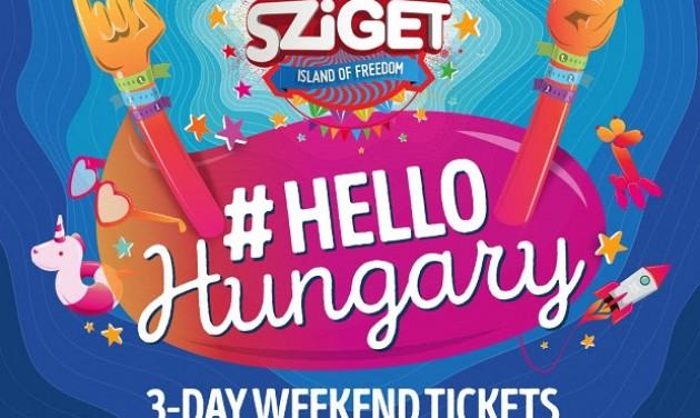 Hello Hungary, Hello Sziget!