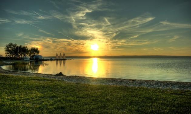 Újra üzemel a viharjelző berendezés a Fertő tó magyar oldalán