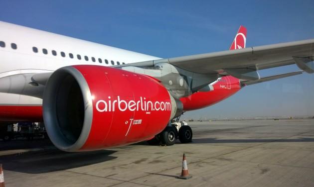 Több hosszútávú járatát is beszüntette az airberlin