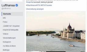 Budapestet augusztusban 2,15 millióan kedvelték a Lufthansa Facebook oldalán