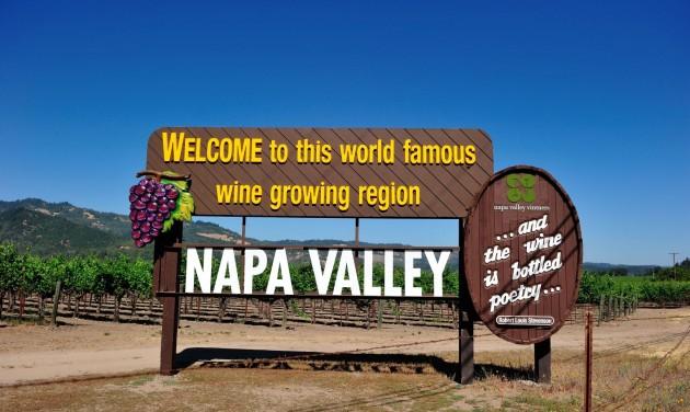 Lángolnak a kaliforniai szőlőültetvények